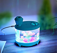 Creative Aquarium USB Charging Version Mini Night Light Household Humidifier (USB Line Charging)