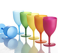 Colored Drinkware, 150 ml Decoration Plastic Juice Tea Cup