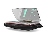 ziqiao универсальный автомобильный GPS HUD головой вверх дисплей держатель fotc стандартное беспроводное зарядное устройство ци для Айфона