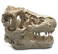 Aquarium Decoration Resin Dinosaur Skull Shape Fish Tank Decor