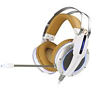 v11 xiberia además auriculares para juegos de ordenador llevaron vibraciones de audio casco bajo estupendo de la luz y brillan los