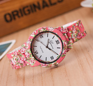 Fashion Watch Quartz Alloy Band Blue Red