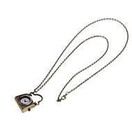 Pocket Watch Quartz Alloy Band Casual Black Black/Brown