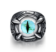 Ring Steel Punk Fashion Silver Jewelry Daily 1pc
