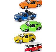 Lastwagen Rennauto Fahrzeug-Spiele nach Themen Auto Spielzeug 1:64 Metall Plastik Regenbogen Model & Building Toy