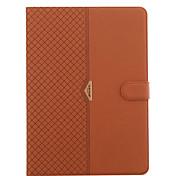 Для со стендом Магнитный Кейс для Чехол Кейс для Один цвет Твердый Искусственная кожа для AppleiPad Pro 9.7'' iPad Air 2 iPad Air iPad