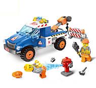 Blocos de Construir Veículo Playsets veículos Brinquedos para presente Blocos de Construir Modelo e Blocos de Construção Carro Plástico5