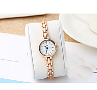 Women's Fashion Watch Quartz Alloy Band Casual Rose Gold