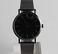 Fashion Watch Quartz / Stainless Steel Band Casual Black Brand