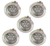 3W E14 GU10 E27 LED Grow Lights 6 SMD 5730 96-112 lm Red Blue AC85-265 V 5 pcs