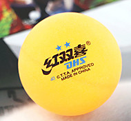 1 Piece 2 Stars 8 Table Tennis Ball Yellow White Indoor Performance Practise Leisure Sports