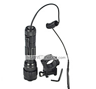 U'King ZQ-X939Y#-US Cree XML T6 2000LM 5Modes Flashlight Torch with Remote Pressure Switch Mount Gun Clip