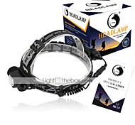 Linternas de Cabeza LED 1500 Lumens 3 Modo Cree XP-E R2 18650.0 Tamaño CompactoCamping/Senderismo/Cuevas De Uso Diario Ciclismo Caza