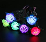 3шт светящихся весенние розы игрушки яблоко цветок игрушки валентина предложить Supplies игрушки партии праздничные подарки украшения