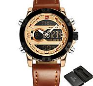 NAVIFORCE Hombre Niño Reloj Deportivo Reloj Militar Reloj de Vestir Reloj de Moda Reloj de Pulsera Reloj Pulsera Reloj creativo único