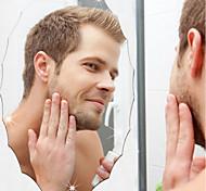 Зеркала Мода Наклейки Зеркальные стикеры Декоративные наклейки на стены,Винил материал Украшение дома Наклейка на стену