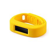 Bluetooth Smart sono pulseira inteligente relógio pedômetro monitoramento cronômetro câmera remota para iphone Samsung ios android