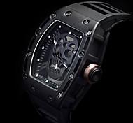 Мужской Спортивные часы Часы со скелетом Модные часы Наручные часы Уникальный творческий часы Кварцевый Фосфоресцирующий Панк силиконовый
