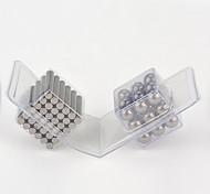 Jouets Aimantés 63 Pièces MM Soulage le Stress Jouets Aimantés Gadgets de Bureau Casse-tête Cube Pour cadeau