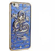 Для Покрытие Кейс для Задняя крышка Кейс для Животный принт Мягкий TPU для AppleiPhone 7 Plus iPhone 7 iPhone 6s Plus iPhone 6 Plus