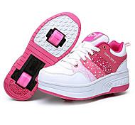 Жен. Детские Взрослые Обувь для скейтбординга Противозаносный Anti-Shake Износостойкий Встроенная/Съемная Легкие Регулируется ABEC-7 -