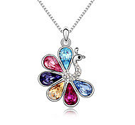 Women's Pendant Necklaces Crystal Animal Shape Chrome Animal Design Personalized Jewelry For Party Congratulations 1pc
