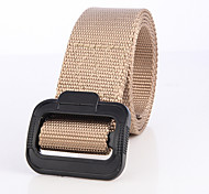 Unisex Belts Hunting Wearable Comfortable Spring Summer Fall/Autumn Winter Black Army Green Light Khaki