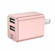 torras® Portable Charger 5V 2.4A For iPad For Cellphone For Tablet 2 USB Ports US Plug