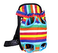 la borsa zaino cane petto in fuori comodo zaino a quattro colori