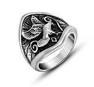Eagle Men Ring Cool Retro Party Jewelry Accessory For Men Mens Rings Stainless Steel Male Ring Big Size