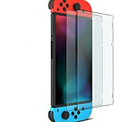 Miimall 2-Pack Nano Polymer Technology HD Clear Tempered Glass Screen Protector for Nintendo Switch 2017
