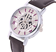 Women's Fashion Watch Quartz Leather Band Black Strap Watch