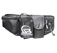 Waist Bag/Waistpack for Leisure Sports Sports Bag Waterproof Waterproof Zipper Dust Proof Multifunctional Running BagAll Phones Iphone