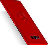 Для Кольца-держатели Ультратонкий Матовое Кейс для Задняя крышка Кейс для Один цвет Твердый PC для Samsung S8 S8 Plus