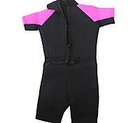 Kid's 3mm Wetsuits Shorty Wetsuit Compression Neoprene Tactel Diving Suit Diving Suits-Diving Surfing