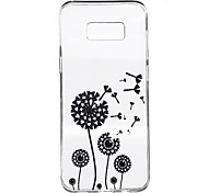 For Samsung Galaxy S8 Plus S8 Case Cover Dandelion Pattern High Penetration TPU Material Phone Case S7 edge S7 S6 edge plus S6 edge S6 S4 Mini S4