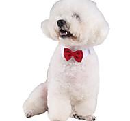 Коты Собаки пояс/Бабочка Одежда для собак Зима Лето Весна/осень АнглийскийМилые Свадьба Косплей День рождения Праздник Мода На каждый