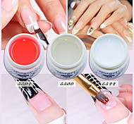 Nail Polish UV Gel  Long Lasting Strong UV Builder Gel  Glue Soak Off Clear Gel Pink White Clear Color UV Builder Gel Nail Art Manicure Builder