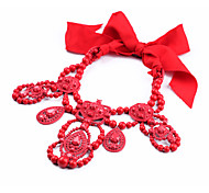 Women's Collar Necklace Irregular Chrome Bohemian Jewelry For Gift Valentine