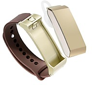tw64 Silikon Geschenk intelligentes Armband Telefon bluetooth Abnutzungssportliebhaber Schritt Armband Messer Gesundheit