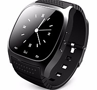 Men's Women's  Bluetooth Smart Watch With LED Alitmeter Music Player Pedometer For Apple IOS Android Smart Phone