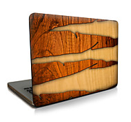 Para macbook air 11 13 / pro13 15 / pro con retina13 15 / macbook12 grietas de grano de madera descrito apple laptop case