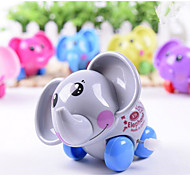 Color Random Delivery Elephant Clockwork Toys On The Chain Winding Toys Multicolor