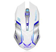 Перезаряжаемая беспроводная игровая мышь 7-цветная подсветка дыхание комфорт геймер мыши для компьютера настольный ноутбук ноутбук ПК