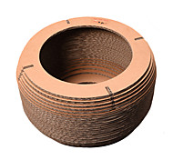 Cat Toy Corrugated Paper Scratch Pad Durable