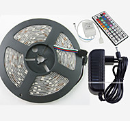 W RGB Strip Lights lm AC100-240 5 m 150 leds Warm White White Red Yellow Blue Green