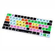 XSKN® Avid Media Composer Shortcut Silicone Keyboard Skin for Magic Keyboard 2015 Version (US/EU Layout)