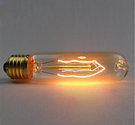 110/220V T10 Retro Atmosphere Edison Tungsten Silk Light Bulb 1pcs