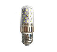 10W E14 E27 LED Mais-Birnen T SMD 2835 1100 lm Warmes Weiß Weiß V 1 Stück