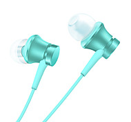 For Mobile Phone Cellphone Computer  In-Ear  Wired Plastic 3.5mm With Microphone Noise-Cancelling